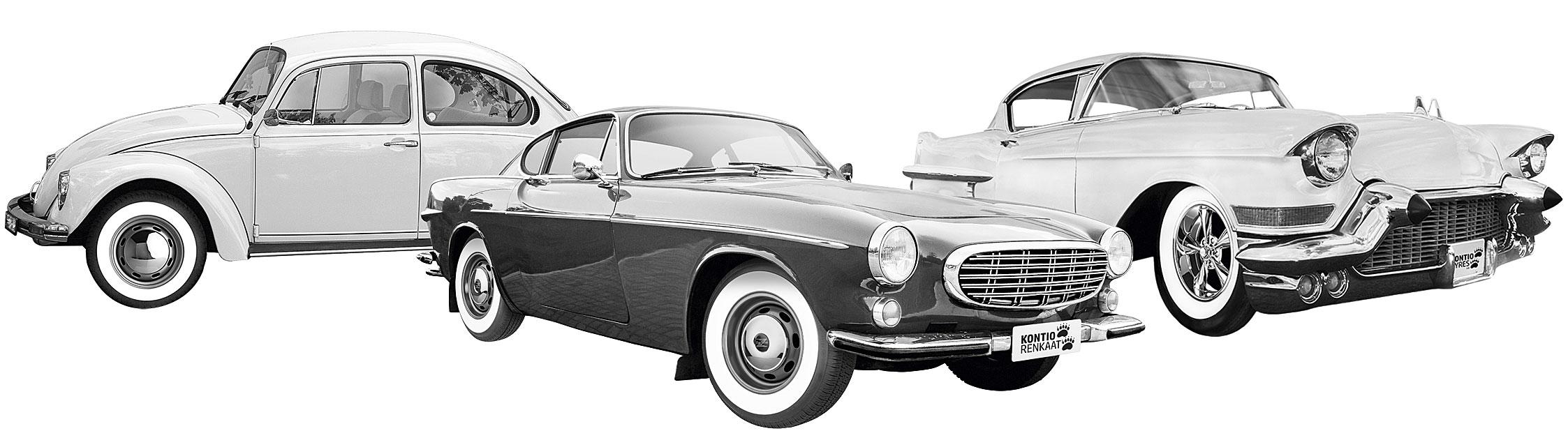 Kontio WhitePaw Classic cars
