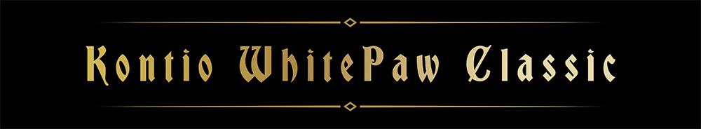 Kontio WhitePaw Classic name banner