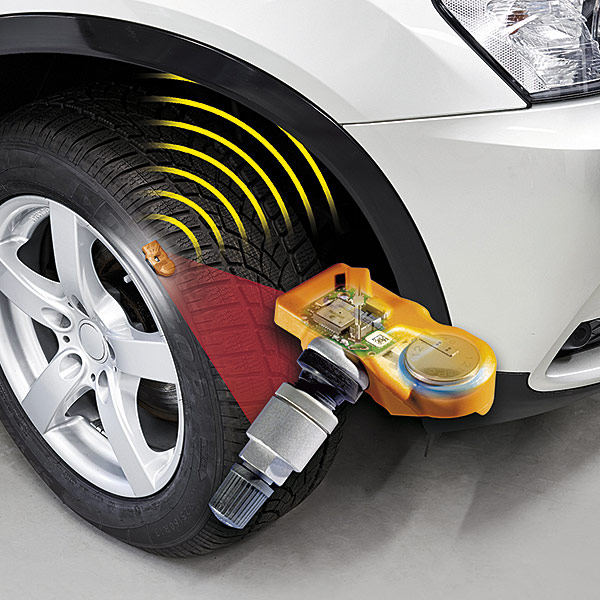 TPMS rengaspaineanturi sensori HUF intellisens